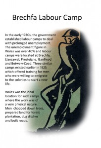 Front page of the leaflets on the work camps